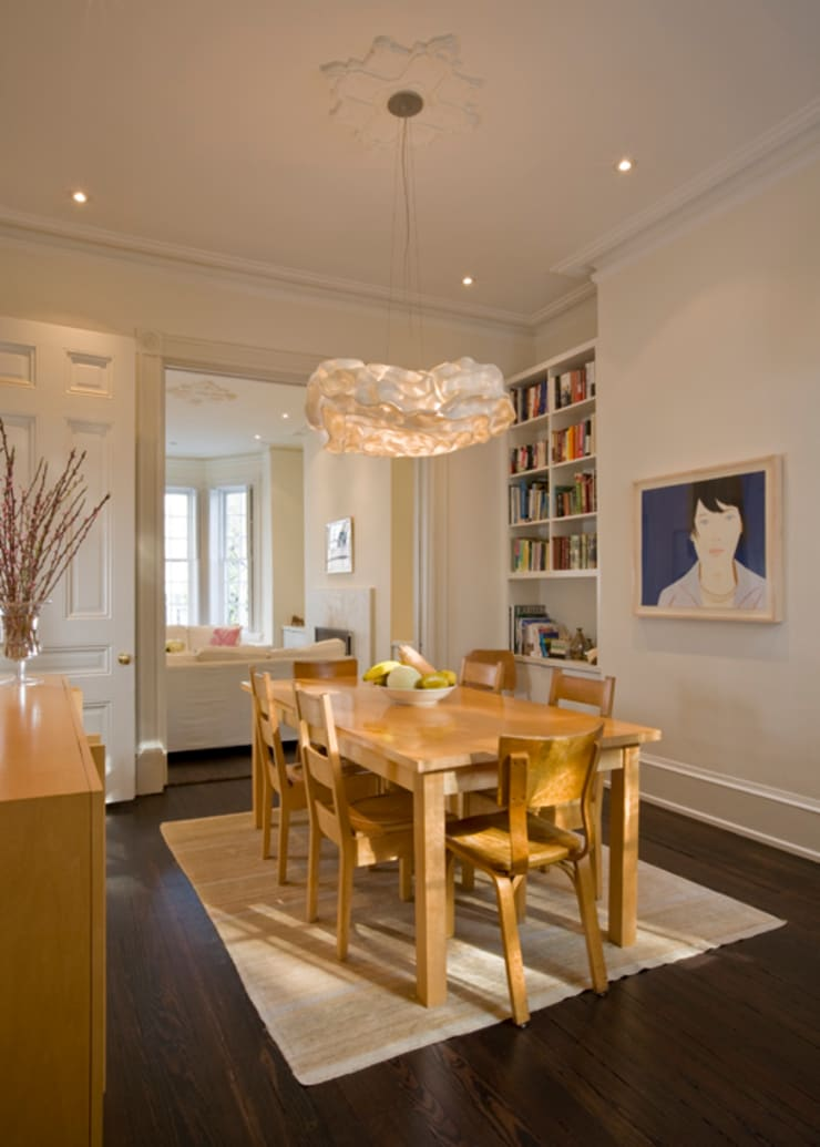 California Casual in Georgetown:  Dining room by FORMA Design Inc.