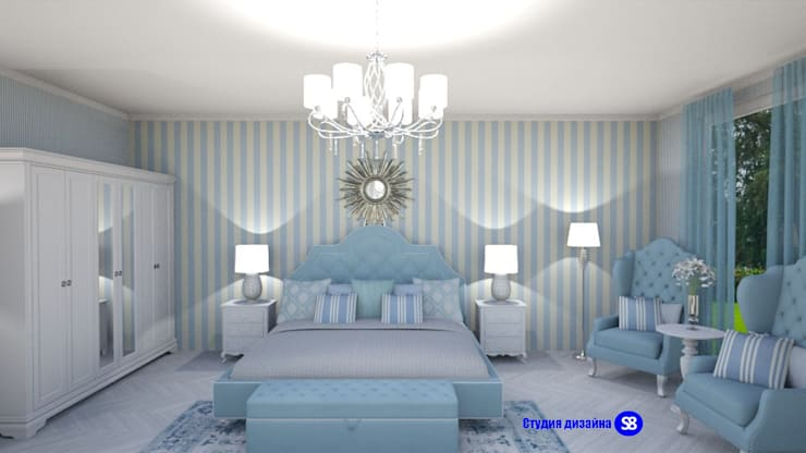 Phòng ngủ by 'Design studio S-8'