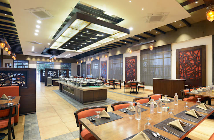 Restaurant Area:  Hotels by Matai Associates