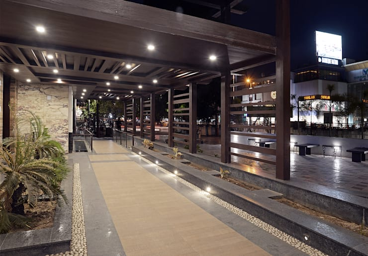 Entrance Colonnade:  Hotels by Matai Associates