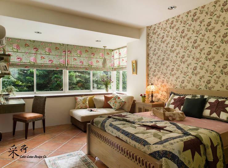 غرفة نوم تنفيذ 采荷設計(Color-Lotus Design)
