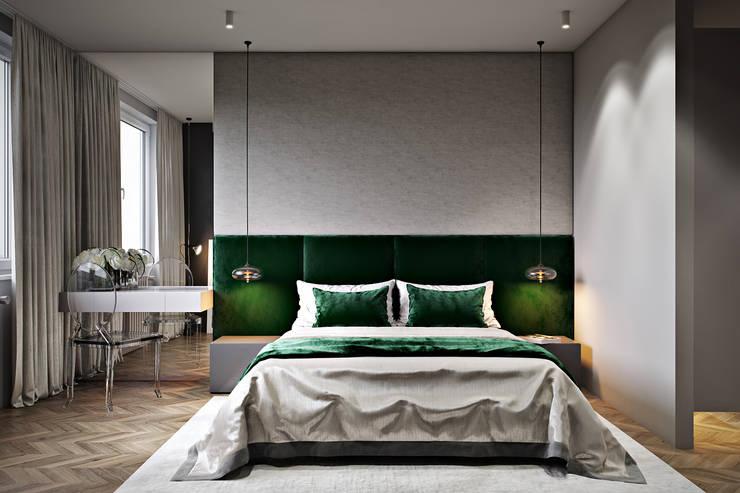 ул. Маршака: Спальни в . Автор – CULTURA-дизайн