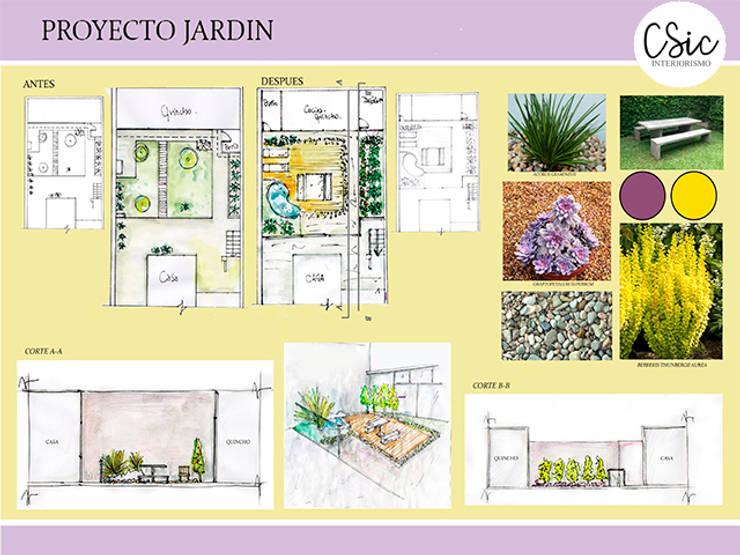 Propuesta:  de estilo  por C-Sic Interiorismo
