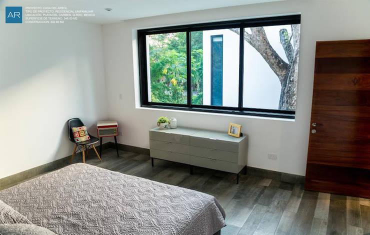 modern Bedroom by AR STUDIO