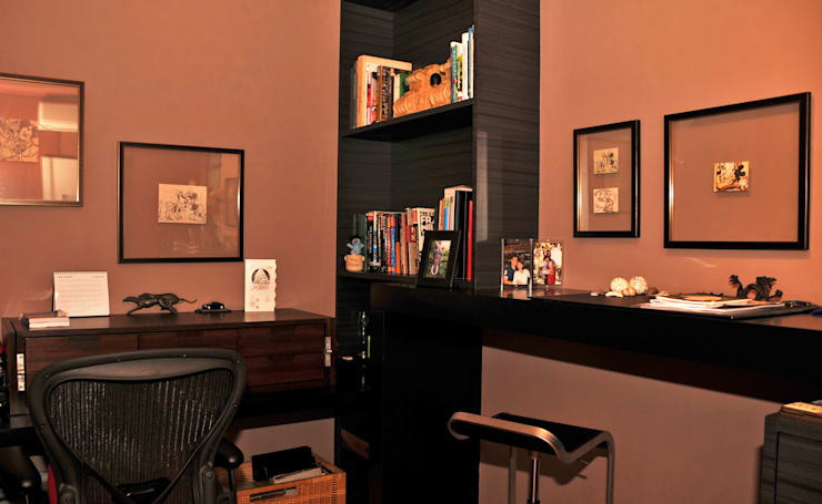 Trik Memanfaatkan Sudut Ruang:  Ruang Kerja by E&U