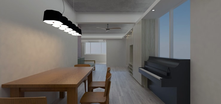 LI RSSIDENCE:  餐廳 by Fu design