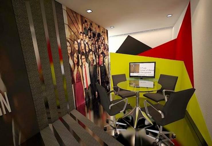 Meeting Space:  Schools by Studio - Architect Rajesh Patel Consultants P. Ltd