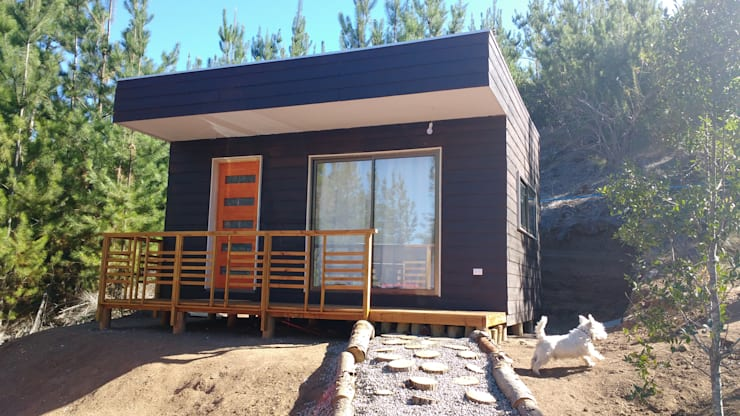 Prefabricated home by Constructora Montgreen Ltda.