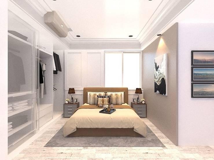3D示意圖2:  臥室 by VH INTERIOR DESIGN