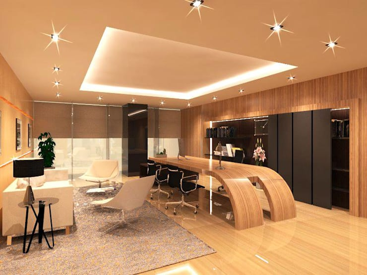 Amigo office Silom:  ตกแต่งภายใน by Ps.studio Design