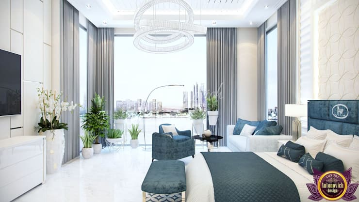 ​The most beautiful bedrooms interiors of Katrina Antonovich:  Bedroom by Luxury Antonovich Design
