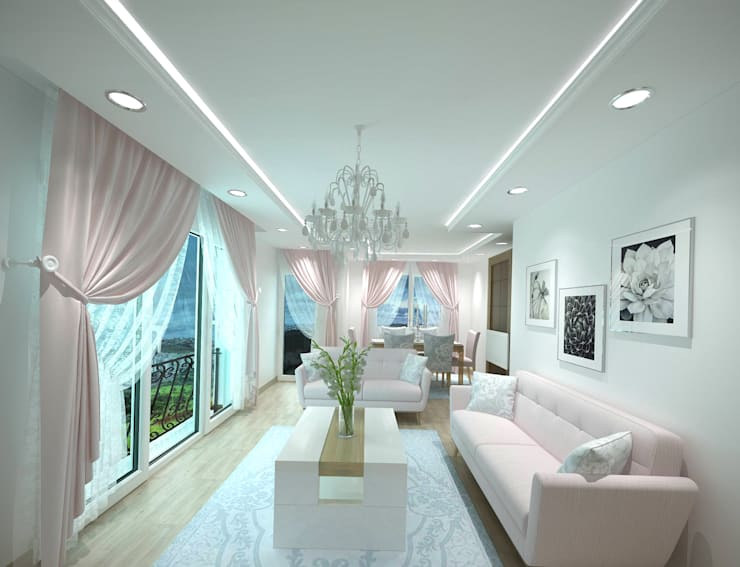 Ruang Keluarga By Altuncu İç Mimari Dekorasyon