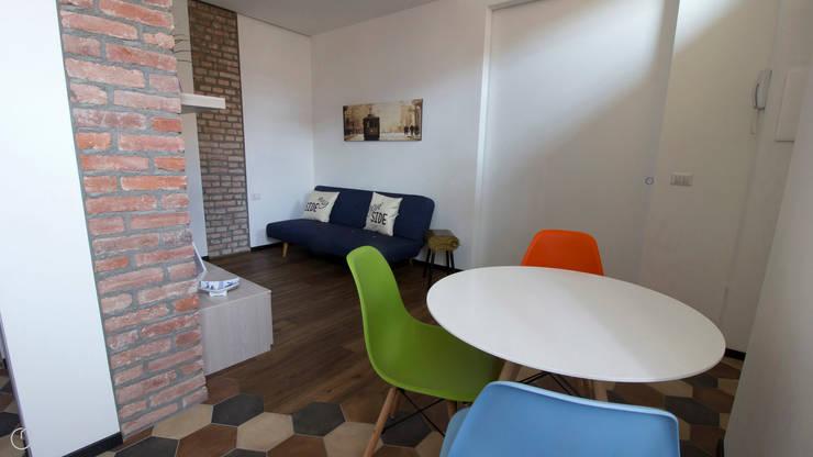 Salon de style  par studiodonizelli, Moderne