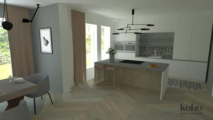 Inbouwkeukens door Koho, Modern