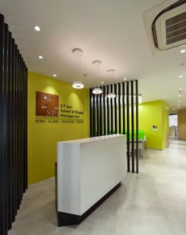 Reception:  Schools by Studio - Architect Rajesh Patel Consultants P. Ltd