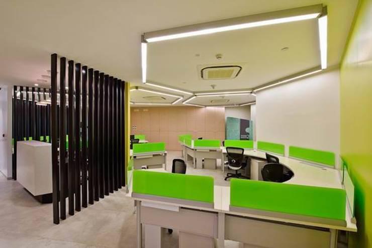 Front office:  Schools by Studio - Architect Rajesh Patel Consultants P. Ltd