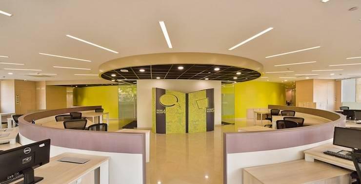 Collaborative Area:  Schools by Studio - Architect Rajesh Patel Consultants P. Ltd