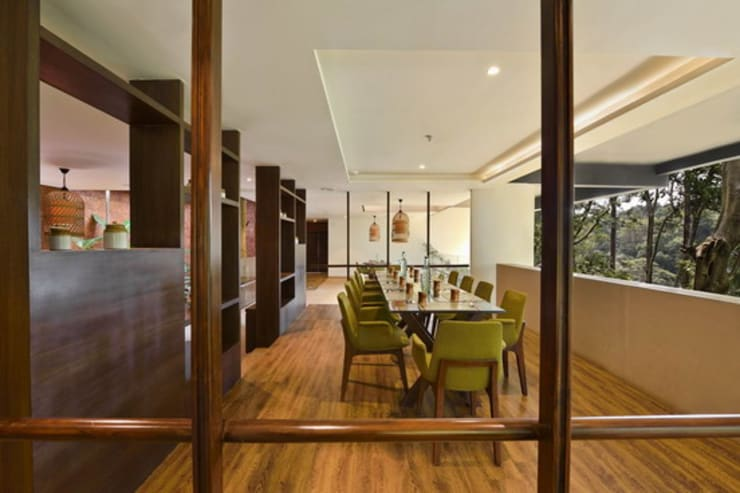 Baalelle Restaurant-Dining Area:  Hotels by Studio - Architect Rajesh Patel Consultants P. Ltd