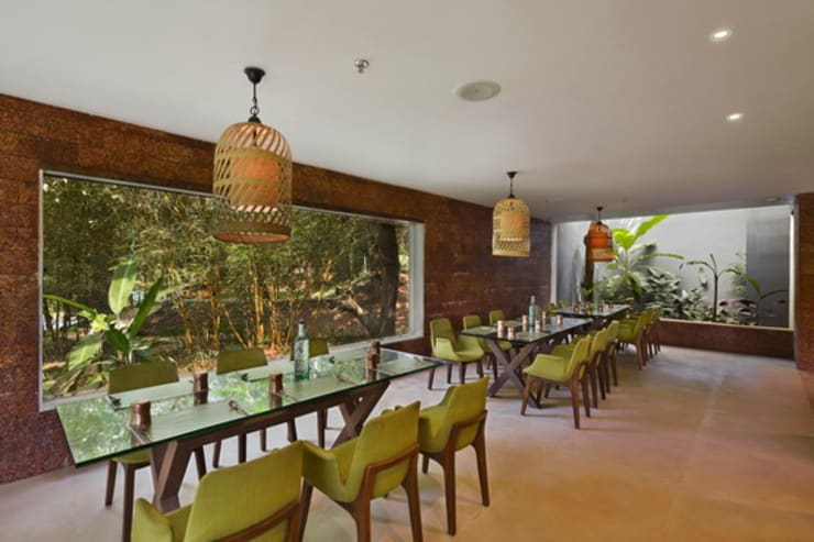 Baalelle Restaurant- Dining Area:  Hotels by Studio - Architect Rajesh Patel Consultants P. Ltd