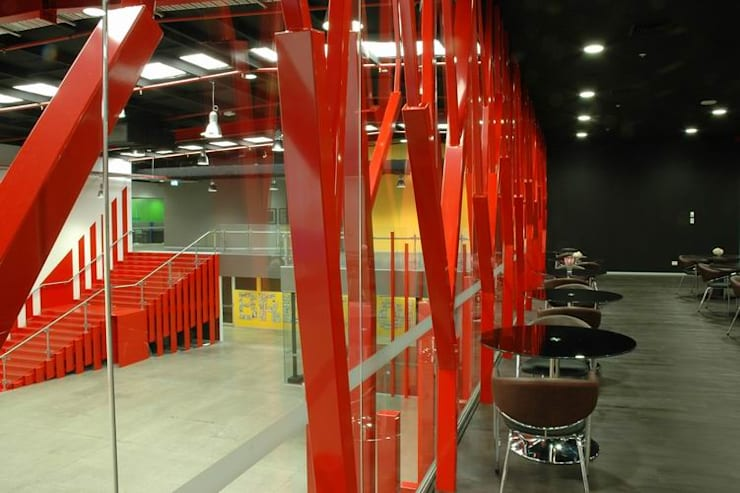 Executive Dining Area:  Schools by Studio - Architect Rajesh Patel Consultants P. Ltd
