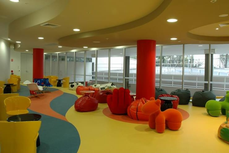 Chill out Area:  Schools by Studio - Architect Rajesh Patel Consultants P. Ltd