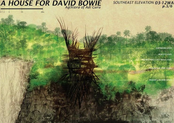 A House for David Bowie:   by WaB - Wimba anenggata architects Bali