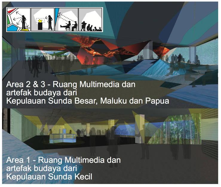 Penatahan Seni ring Jimbaran - Bali:   by WaB - Wimba anenggata architects Bali