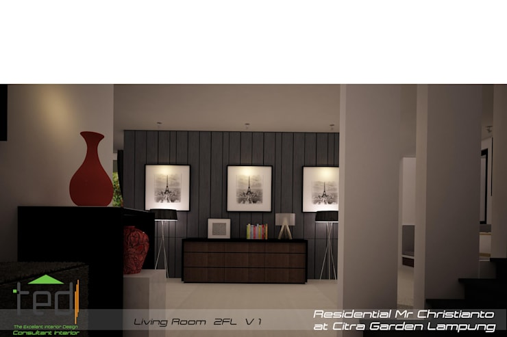 Citra Garden Residence Lampung: modern Living room by PD.Teguh Desain Indonesia