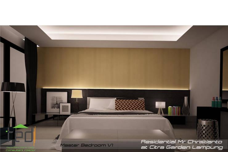 Citra Garden Residence Lampung:  Kamar Tidur by PD.Teguh Desain Indonesia