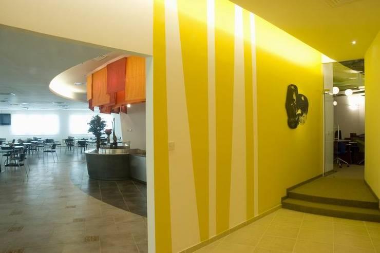 Executive Cafeteria:  Schools by Studio - Architect Rajesh Patel Consultants P. Ltd ,Modern