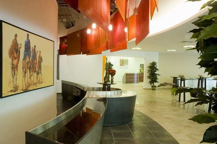 Executive Cafeteria-Food Counter:  Schools by Studio - Architect Rajesh Patel Consultants P. Ltd ,Modern