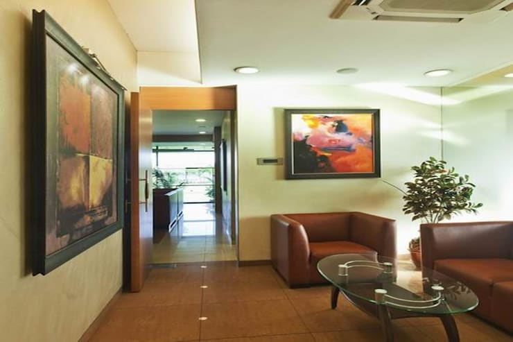 Passage:  Office buildings by Studio - Architect Rajesh Patel Consultants P. Ltd