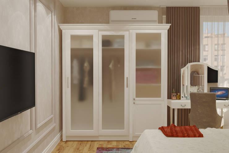 ЖК 7 Континент: Спальни в . Автор – Mantra_design, Классический