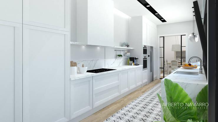 廚房 by Alberto Navarro Arquitectura Interior