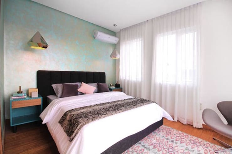 Elena: eclectic Bedroom by Marilen Styles