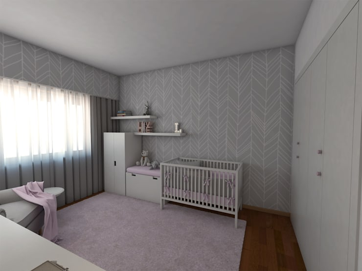 Nursery/kid's room by The Spacealist - Arquitectura e Interiores