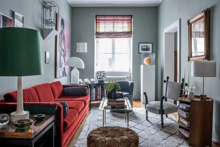 غرفة المعيشة تنفيذ tredup Design.Interiors