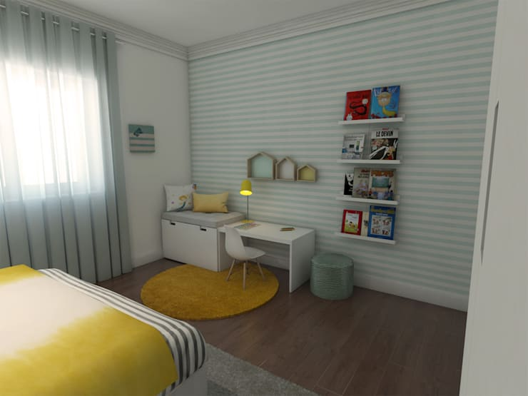 Chambre d'enfants de style  par The Spacealist - Arquitectura e Interiores