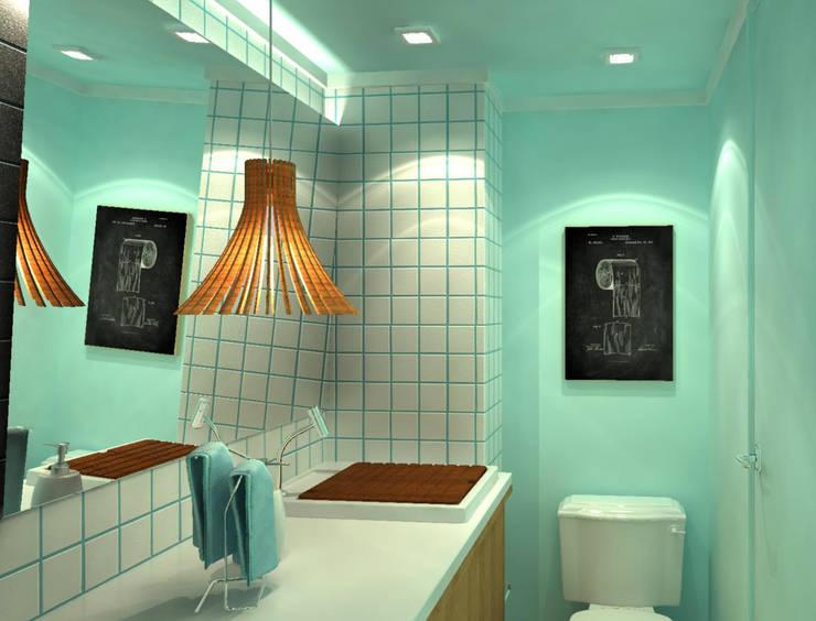 浴室 by Fragmento Arquitetura