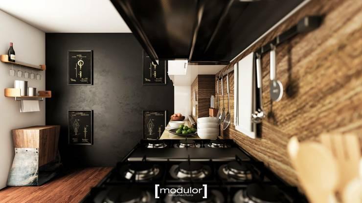 by Modulor Arquitectura Modern Granite