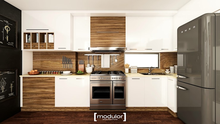 Built-in kitchens by Modulor Arquitectura