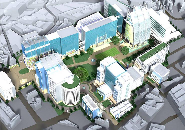 มหาวิทยาลัยหอการค้าไทย:   by 3D ARCHITECT CO., LTD.