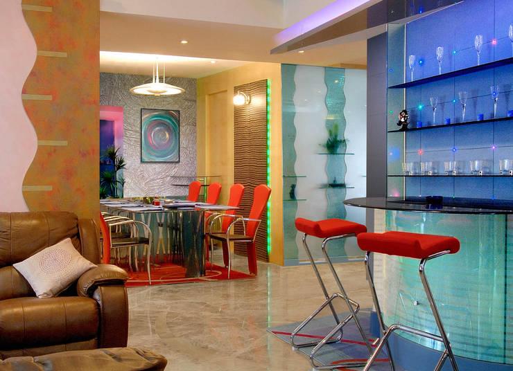 Residential Interiors,Mumbai: modern Living room by Prem Nath And Associates