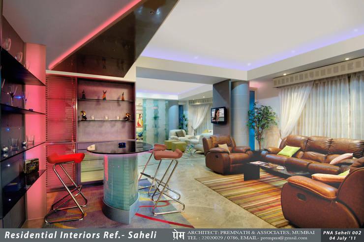 Residential Interiors,Mumbai:   by Prem Nath And Associates