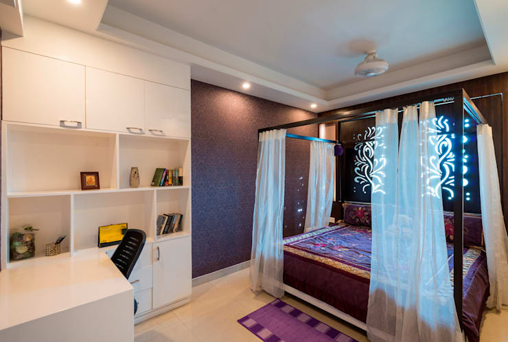 Kids Bedroom:  Bedroom by Vivek Shankar Architects,