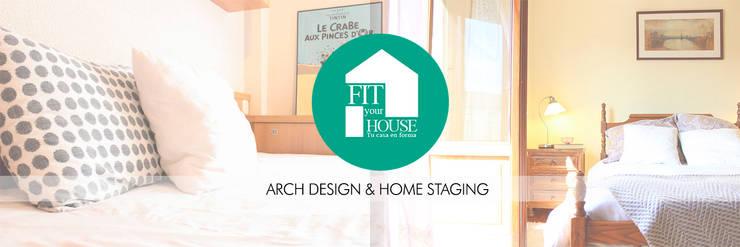 NUestra nueva imagen:  de estilo  por Fityourhouse AD & Home Staging