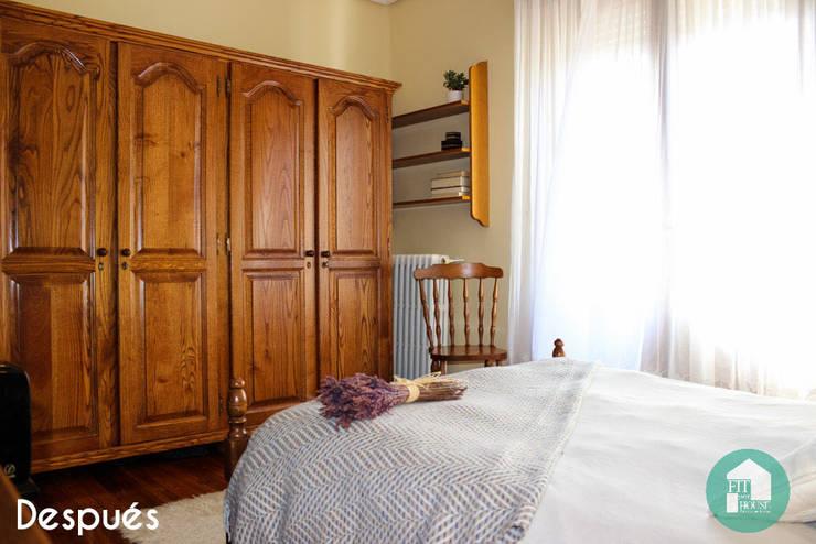 Estado final de la habitación tras aplicar Home Staging:  de estilo  por Fityourhouse AD & Home Staging