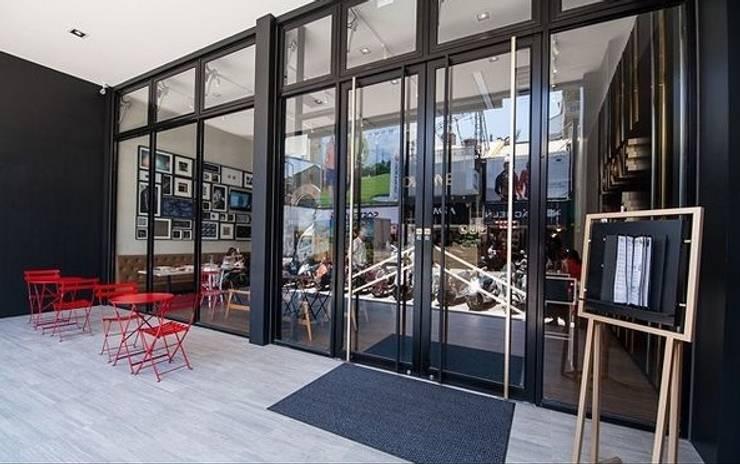 樂昂咖啡 彰化店:  餐廳 by DS&BA Design Inc 伊國設計
