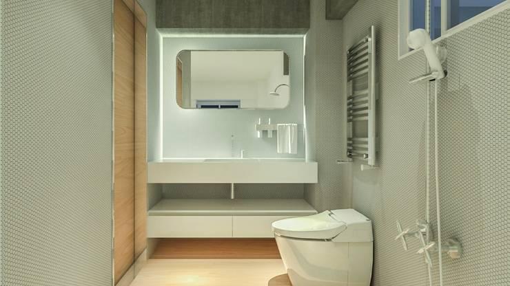 游宅-回歸原始的動線、家裡轉個彎,從此不一樣:   by DS&BA Design Inc 伊國設計