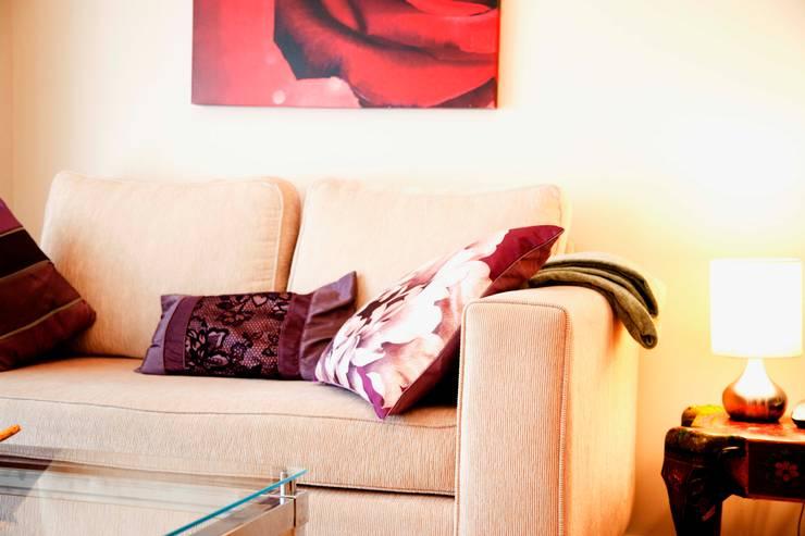 غرفة المعيشة تنفيذ ab interiors